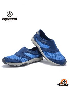 รองเท้าลุยน้ำ ลงน้ำ aquatwo รุ่น503-สีน้ำเงินฟ้า