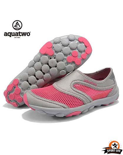 รองเท้าลุยน้ำ ลงน้ำ aquatwo รุ่น503-สีชมพู