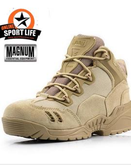 รองเท้าข้อสั้น-Magnum-7.1-รุ่น spider-สีทราย