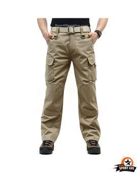 กางเกงแทคติคอล Taro สีทราย-รูปด้านหน้า