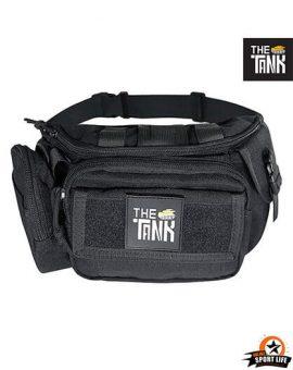 กระเป๋าคาดเอว Gu27-กันน้ำ-เดินป่า-สีดำ