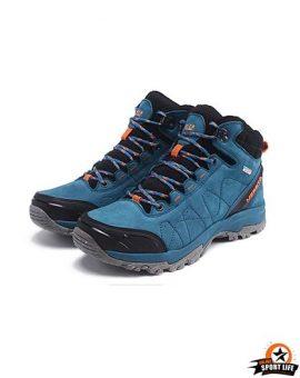 รองเท้าข้อสูง รองเท้ากันน้ำ รองเท้าลุยหิมะ-ฟ้า