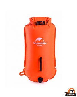 กระเป๋ากันน้ำ-เป่าลม-ลงทะเล-ส้ม