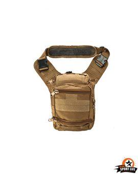 กระเป๋าสะพายข้างใหญ่-กระเป๋าเดอะร็อค-SB02-ทราย
