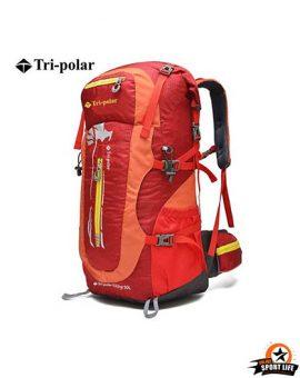 กระเป๋าเป้สะพายหลัง Tri polar 50L กันน้ำ-แดง