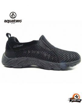 รองเท้าลุยน้ำ รองเท้าตาข่าย-ดำ