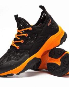 รองเท้า Aquatwo รุ่น 3349 น้ำหนับเบา ระบายอากาศ - สีดำ/ส้ม