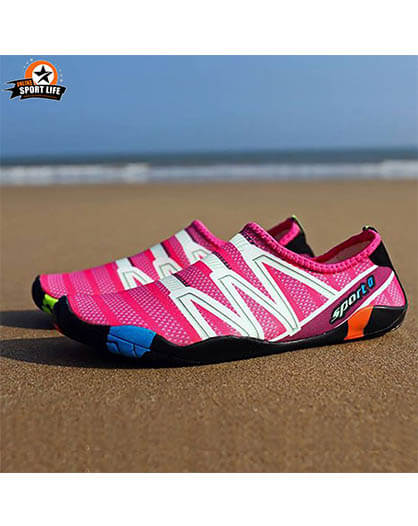 รองเท้าลุยน้ำ ลงน้ำ ลุยทะเล กันน้ำ รุ่น orca - สีชมพู
