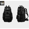 กระเป๋าเป้กันน้ํา กระเป๋าเป้เดินทาง กระเป๋าเป้ทหาร The Tank - สีดำ