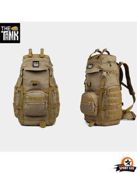กระเป๋าเป้กันน้ํา กระเป๋าเป้เดินทาง กระเป๋าเป้ทหาร The Tank - สีทราย